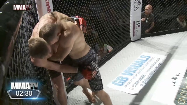 #BCMMA17 - Dalius Sulga vs Arthur Jakub - 170lbs Amateur MMA Title Contest