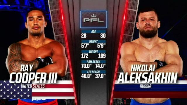 WelterweightsRay Cooper IIIvsNikolai Aleksakhin
