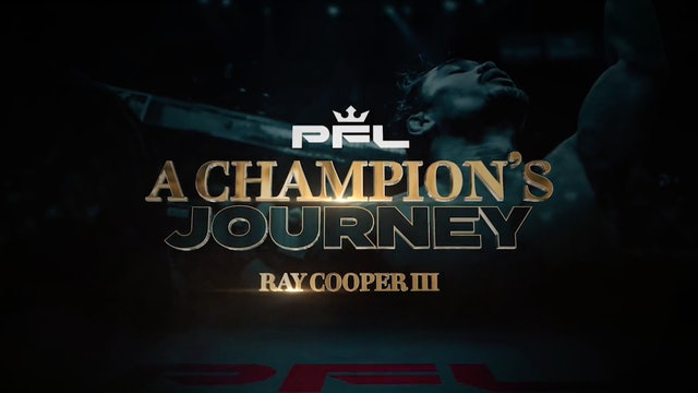 Pfl - A Champion'S Journey – Ray Cooper III