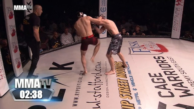 Cage Warriors Academy South East - Pawlaczek vs Redford