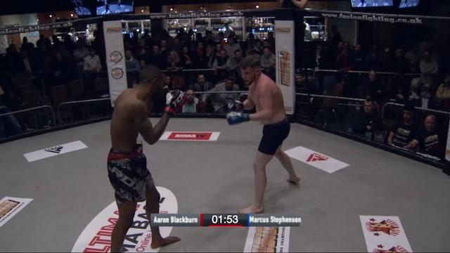 Marcus Stephenson vs Aaron Blackburn