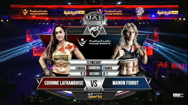 3 UAE Warriors 12 Corinne Laframboise...