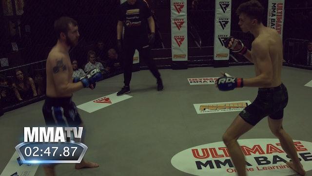 Fusion Fighting Championship 29: Fight 1 Thomas Greener vs Elliott Hannaford