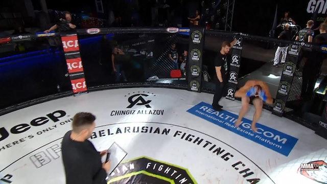 12 BFC 57 Shamil Yakhyaev vs Vladimir Lubko Russian Commentary
