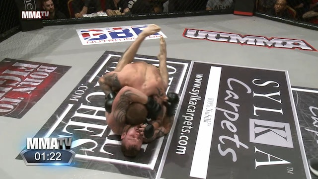 5 UCMMA 49 Joe Salter vs Martin Thorne