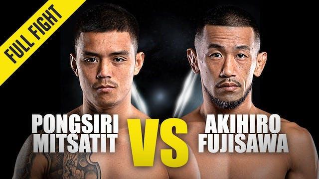 Pongsiri Mitsatit vs Akihiro Fujisawa...