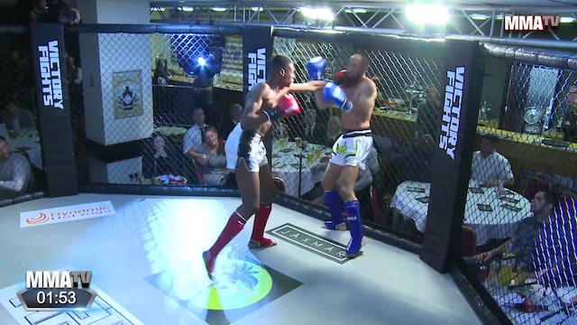 Daniel Vortiah .vs Jerome Martello - Victory Fights, Brighton Sussex