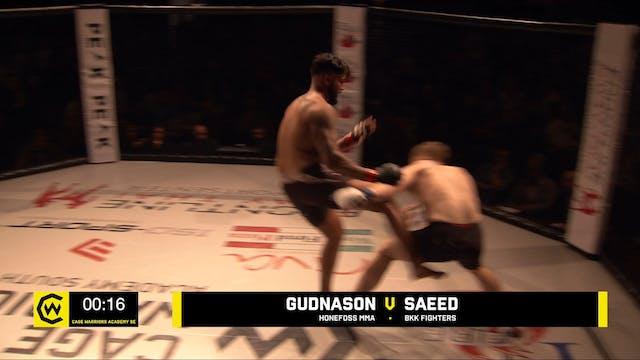 GUDNASON VS SAEED