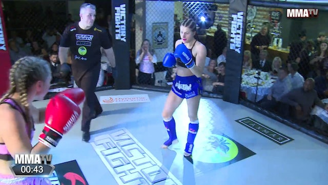 Kat Freeman vs. Lexi Rooks - Victory Fights, Brighton Sussex