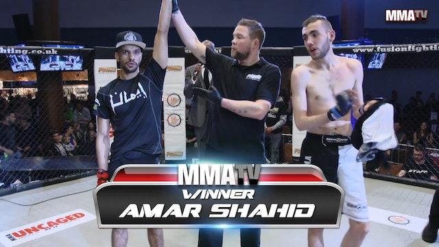 James Mcnulty VS Amar Shahid Fusion 23