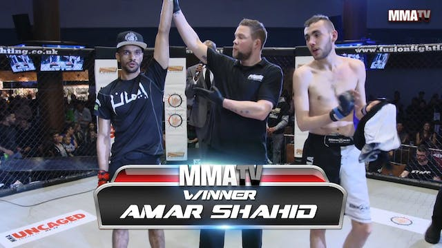 James Mcnulty VS Amar Shahid Fusion 23