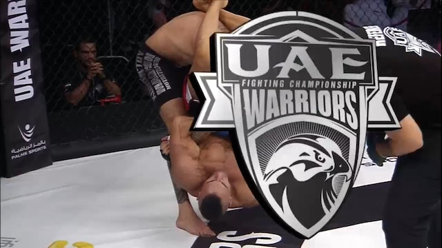 UAE Warriors 8 Main card