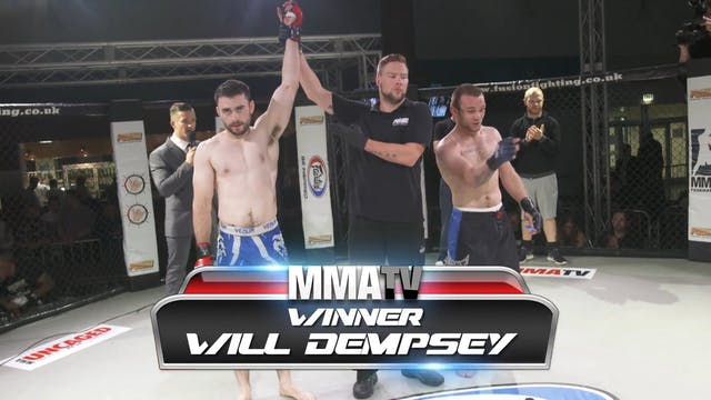 John Spencer Vs Will Dempsey FUSION 21