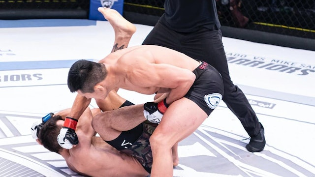 UAE Warriors 12: Do Gyeom Lee vs Alexandru Chitoran World 145lb Title