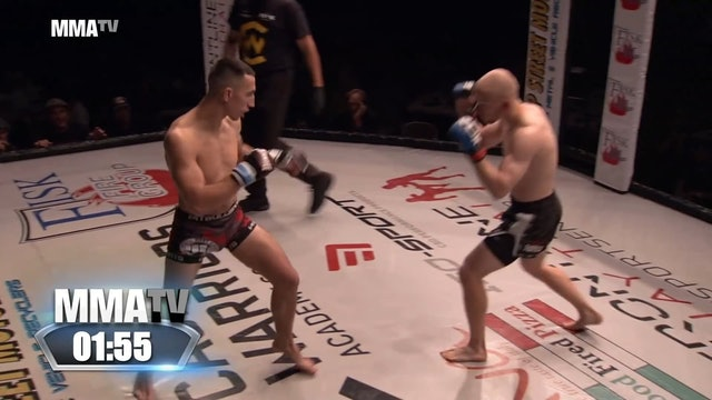 Cage Warriors Academy South East - Pawlaczek vs Young