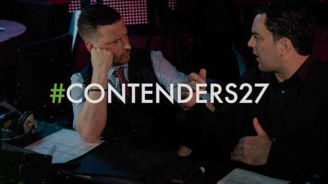 Contenders 27 main card