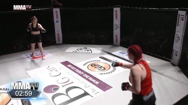 #BCMMA17 - Paula Donnelly vs Sophie Newnes - 155lbs Amateur MMA Contest