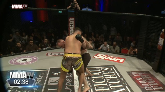 8 UCMMA 50 Beau West vs Constantin Marian