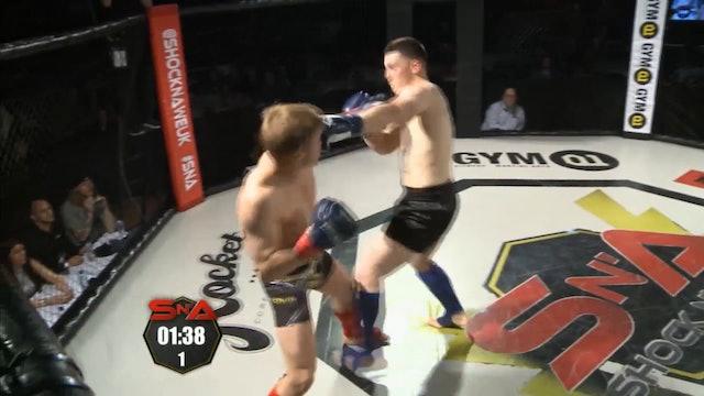 Shock n' Awe 22 Arthue Ozlins vs Rhys Brudenell K1