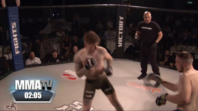 Victory Fights Welterweight MMA Title - Kye Stevens v Henry Grimble