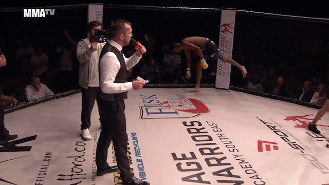 Cage Warriors Academy South East - Re...
