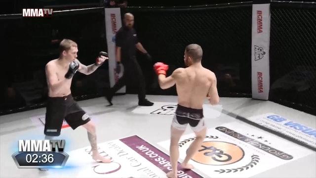 #BCMMA17 - Fredrik Jacobsen vs Gergely Juhasz - 145lbs Amateur MMA Contest