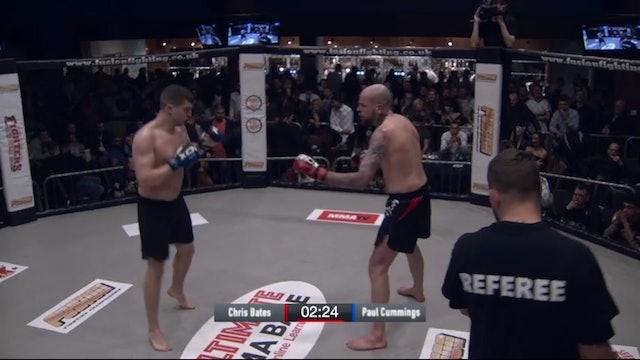 Paul Cummings vs Chris Bates