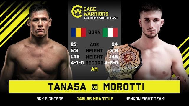 #CWSE23 - Tanasa vs Morotti - 145lbs Amateur MMA Title Contest