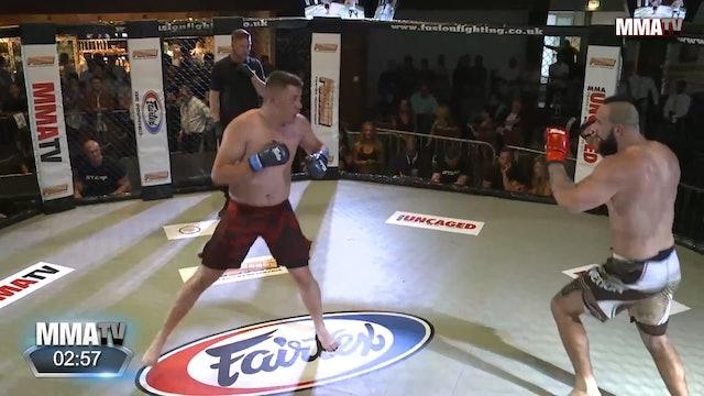 Alex Hayes VS Jake Castle Fusion 24