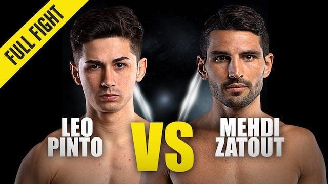 Leo Pinto vs Mehdi Zatout ONE Champio...