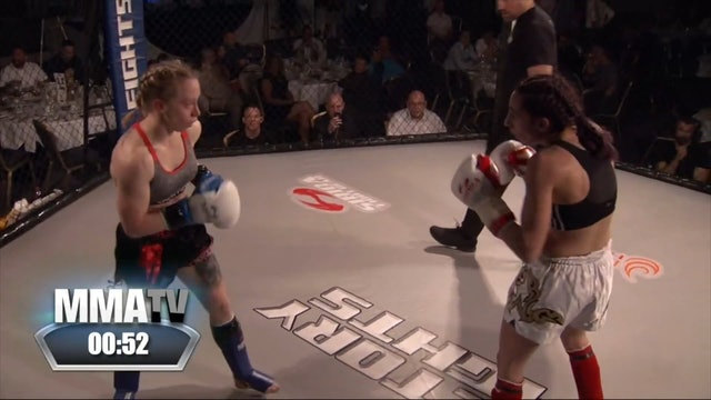 Victory Fights 4 Danika Rudman v Bunnie Georgiou
