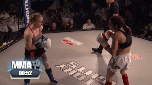 Victory Fights 4 Danika Rudman v Bunn...