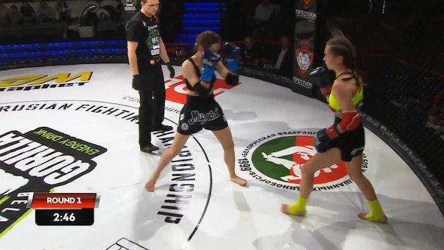 1 BFC 56  Svetlana Spetsian vs Ksenia Nikolaeva Russian Commentary