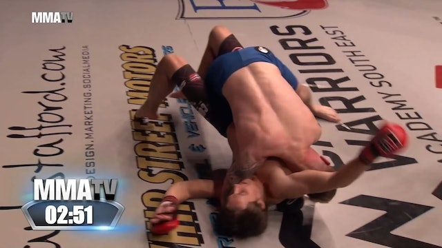 Cage Warriors Academy South East - Russell vs Elnaes