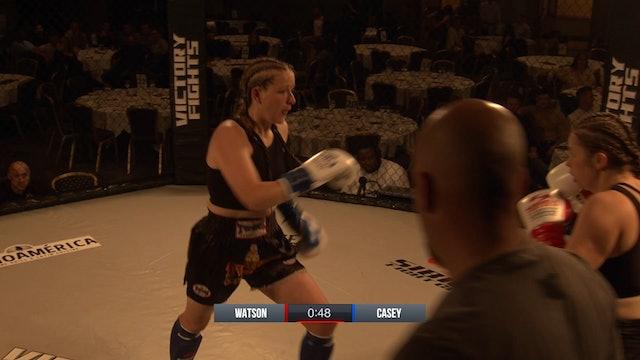 Elise Watson VS Sarah Casey