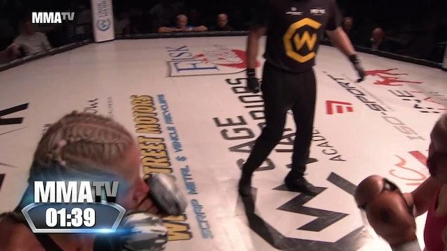 Cage Warriors Academy South East - Lindsay vs Bergstrom