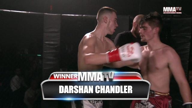 Darshan Chandler VS Harry Martin Victory Fights - 3, Brighton Sussex