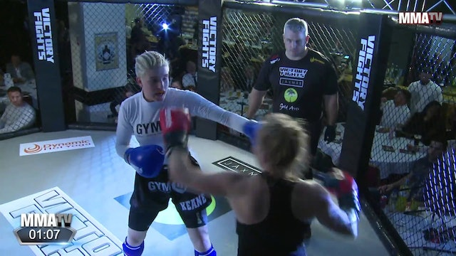 Frida Clementz vs. Laura Keane - Victory Fights, Brighton Sussex