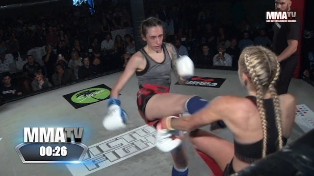 Lucy Turner vs Megan Paterson -Victory Fights 2