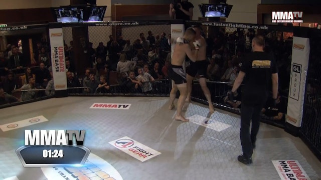 Astijus Saulinski vs Will Currie Fusion 27