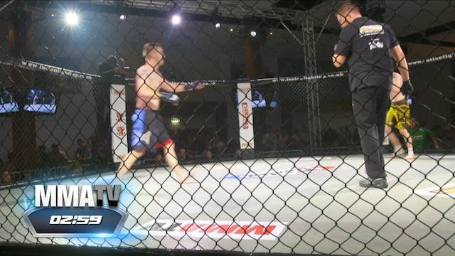Will Cairns Vs Louis Mcgill FUSION 21