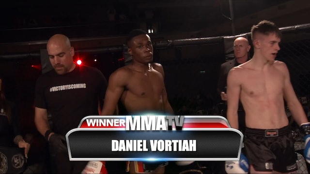 Victory Fights Featherweight Kickboxing Title - Dom Coleman v Daniel Vortiah