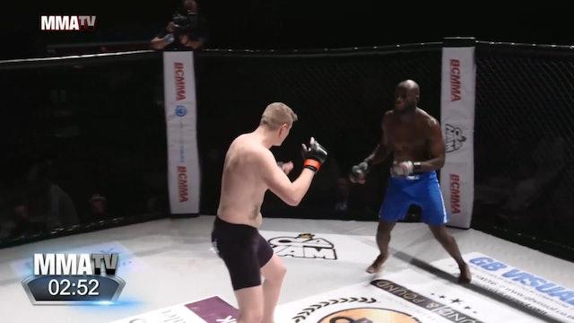 #BCMMA17 - Ryan Pink vs Eloge-Bofaze Imbula - 185lbs Amateur MMA Contest