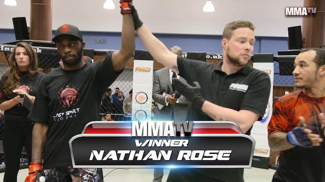 Vitor Silva VS Nathan Rose Fusion 23