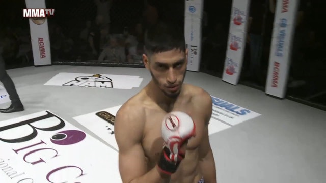 #BCMMA17 - Callum Penman vs Ahmed Alash - 155lbs Amateur MMA Contest (2)