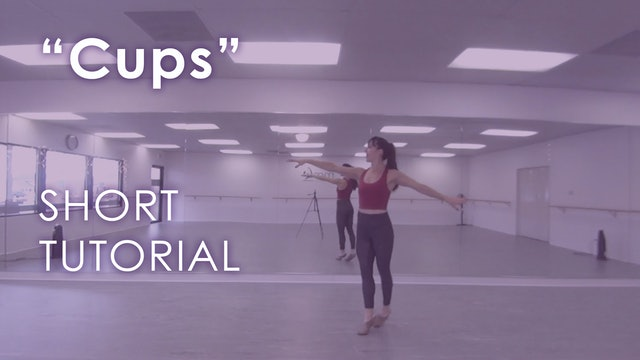 """Cups"" -  Short Tutorial"