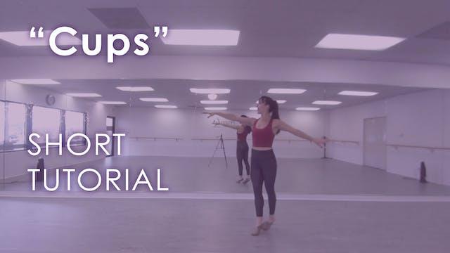"""Cups"" -  Short Tutorial"