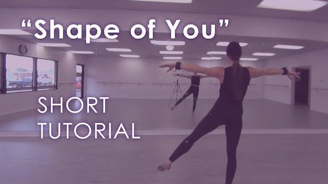 """Shape Of You"" - Short Tutorial"