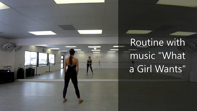 """What a Girl Wants"" Cardio Dance Tuto..."
