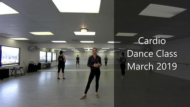Cardio Dance Class-March 2019